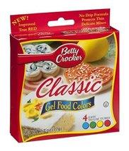 Betty Crocker Gel Food Color 4 pack, 4-count (Pack of6) - $50.52