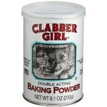 Clabber Girl Double Acting Baking Powder 8.1 Oz Can (8.1 Oz 3 Cans) - $17.28