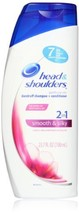 Head & Shoulders 2 In 1 Smooth & Silky Dandruff Shampoo and Conditioner 23.7 Oun - $42.06