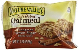 NAT VAL SOFT BAKED SQUARES 6 Piece Cinnamon Brown Sugar Soft-Baked Oatme... - $9.70
