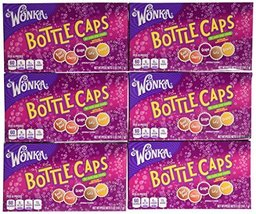 Wonka Bottle Caps, Soda Pop Candy, 5 Ounce Boxes (Pack of 12) - $35.32