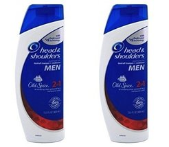 Head and Shoulders Shampoo 2-in-1 Old Spice Scent 13.5 Fl Oz (2 Pack) - $28.39