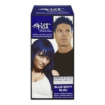 Splat Rebellious Semi Permanent Fantasy Complete Hair Color Kit in Blue ... - $21.84