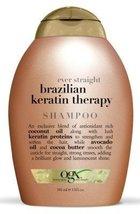 Ogx Shampoo Brazilian Keratin Therapy 13 Ounce (384ml) (3 Pack) - $39.98