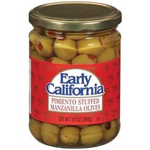 Early California Pimiento Stuffed Manzanilla Olives 10oz - $15.49