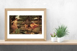 "Echo and Narcissus - John William Waterhouse - Art Print - 13"" x 19"" - Custom Si - $25.00"