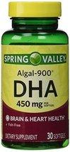 Spring Valley - ALGAL-900, DHA 450 mg, 30 Softgels - $22.73