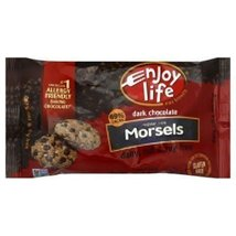 Enjoy Life Dark Chocolate Morsels 9 OZ (Pack of 24) - $261.51