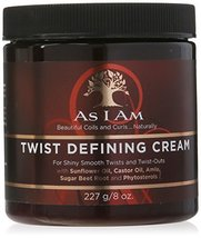 As I Am Twist Defining Cream, 8 Ounce by As I Am [Beauty] by As I Am - $26.72