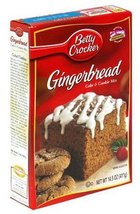Betty Crocker Gingerbread Cake & Cookie Mix, 14.5 oz Boxes, 12 ct (Quant... - $1.601,21 MXN