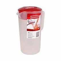 Rubbermaid Classic Pitcher, 2 quart, Racer Red - $14.80