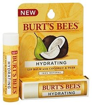 Burt's Bees Lip Balm, Coconut and Pear Tube, 0.15 Ounce, - $8.14