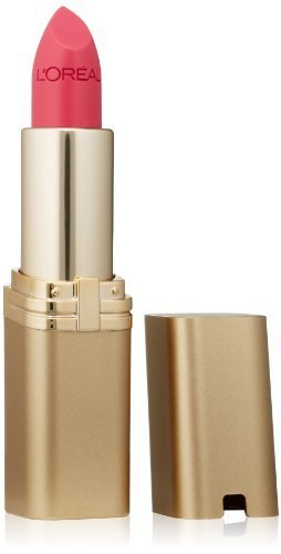 L'Oral Paris Colour Riche Lipstick, Pink Flamingo, 0.13 oz.
