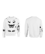 UPDATED VERSION Crewneck Sweatshirt Harry Styles Tattoos One Direction 1... - $24.99
