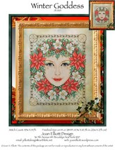 Winter Goddess JE063 cross stitch chart Joan El... - $14.00
