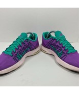 Nike Womens Flywire Lunaracer 3 Running Shoes Purple Teal 554683-530 Low... - $24.79