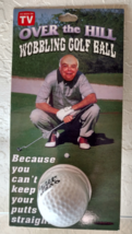 Golf Ball Joke Gift Fathers Day Gift Over the Hill Gift Wobbling Golf Ba... - $15.99