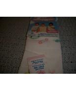 Charles Craft Cross Stitch Baby Bib - $10.00