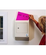 Locking Drop Box Wall Mount Lock Box Lock Safe Mail Ballot Secure Deposi... - $133.49