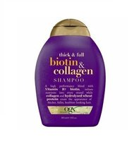 Ogx Shampoo Biotin & Collagen 13 Ounce (384ml) (3 Pack) - $35.59