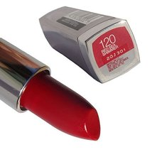 Maybelline Colorsensational Lipstick #120 Red Sea Shimmer - $8.86