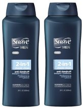 Suave Professionals for Men Anti Dandruff Shampoo 28 Fl. Oz. 2 Pack (Classic Cle - $17.88