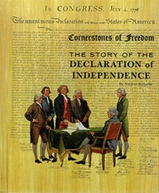 Story of the Declaration of Independence Norman Richards Cornerstones of... - $2.66