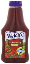 Welch's Strawberry Spread, 22-Ounce Squeezable Bottles (Pack of 6) - $44.92