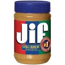 Jif Peanut Butter, Extra Crunchy, 28 oz (Pack o... - $49.95