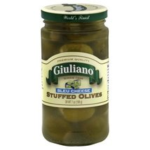 Giulianos Bleu Cheese Stuffed Olive, 7 Ounce -- 6 per case. - $54.01
