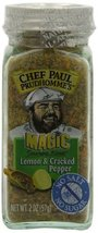 Chef Paul Prudhomme's Magic Seasoning Blends No Salt & No Sugar, Lemon a... - $4.20