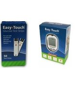 Easy Touch Meter + 50Ct Test Strips Combo Deal - $12.00