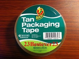 "Brand 1.88"" x 50 yd Standard Grade Packaging Tape-Duck Brand - $4.90"