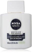 NIVEA FOR MEN Sensitive Post Shave Balm 3.30 oz (Pack of 4) - $51.90