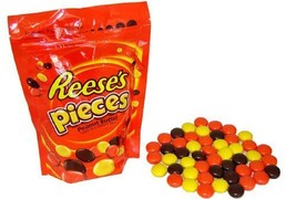 Reese's Pieces Peanut Butter Candies, 10.5-Ounce Pouches (Pack of 4) - $22.42