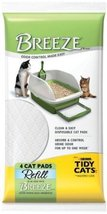 Tidy Cats 4 Count Breeze Litter Pad Refill (Pack of 10) - $123.37