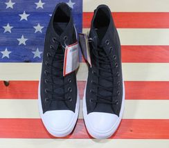 CONVERSE SAMPLE Chuck Taylor ALL-STAR HI Cordura Black White Shoe [157516C] sz 9 image 11