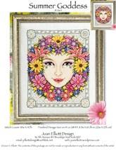 Summer Goddess JE064 cross stitch chart Joan Elliott Designs - $14.00