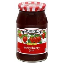 Smuckers Jam Seedless 18 Oz (Pack of 4) (Strawberry) - $32.77