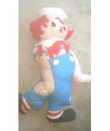 Big Vintage Raggedy Ann ANDY Pillow , Great Con... - $24.99