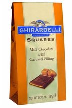 Ghirardelli Chocolate Squares, Milk Chocolate with Caramel Filling, 5.32-Ounce P - $28.77