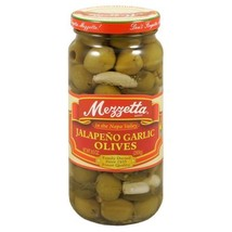 Mezzetta Olive, Jalapeno and Garlic, 9.5-Ounce (Pack of 6) - $52.22