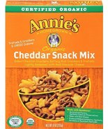 Annie's Homegrown Cheddar Organic Snack Mix Bunnies Cheddar 9 Ounce (Pac... - $61.68
