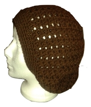 3-1 V-st Beanie - Brown - Large/X-Large - $15.00