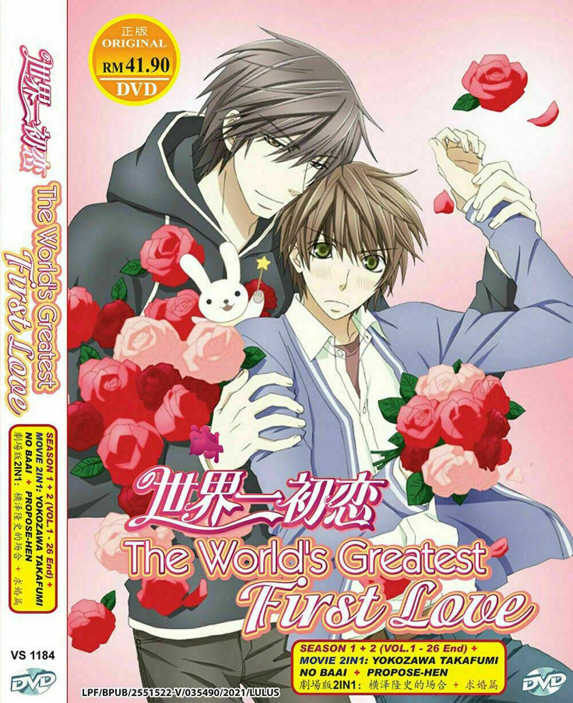 The Worlds Greatest First Love Sekai Ichi Hatsuoki1 to 26 + Movie Ship From USA