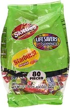 Skittles/Lifesavers/Starburst Candy Variety Pack, 80 count, 22.7 oz Wrigley - $19.16