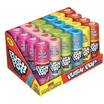 Topps Push Pop Assorted Candy, 12 Ounce - $34.80
