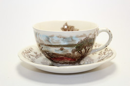 Vintage Mt Vernon Garden House Johnson Bro England Windsor Ware Tea Cup ... - $45.53