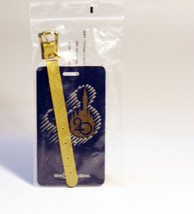 Blue Disney Luggage Tag Walt Disney World Mickey 20 Years Anniversary - $9.89
