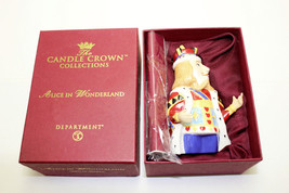"Department 56 Candle Crown Collection Alice in Wonderland ""King of Hearts"" box - $24.74"